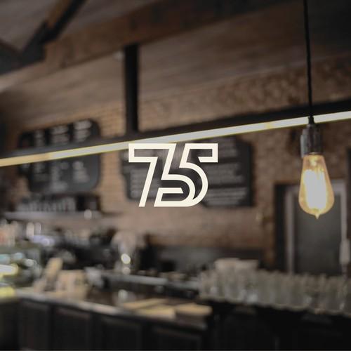 75 West logo