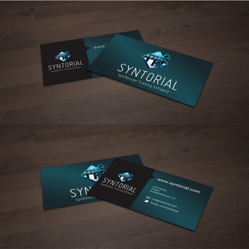 Calling Card Design for a Music Software Provider