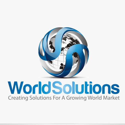 Create the next logo for World Solutions