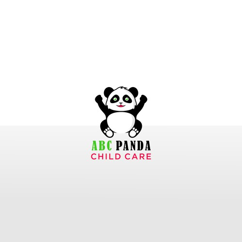 character logo for abc panda child care