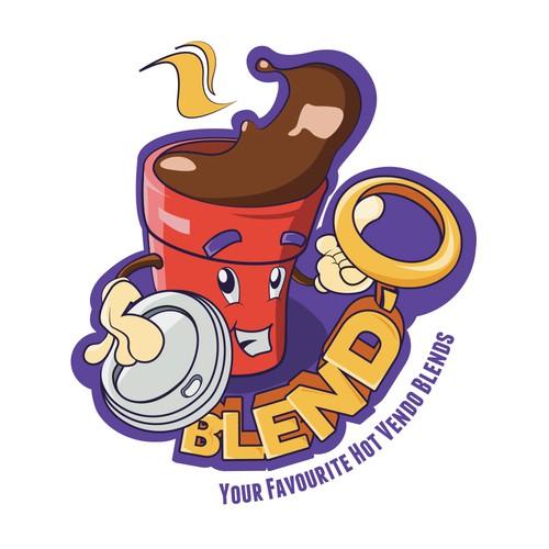 Concept Logo for Blend-O