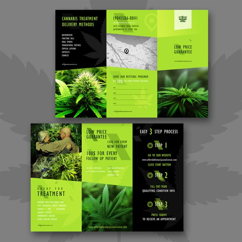 Affordable Marijuana License Brochure