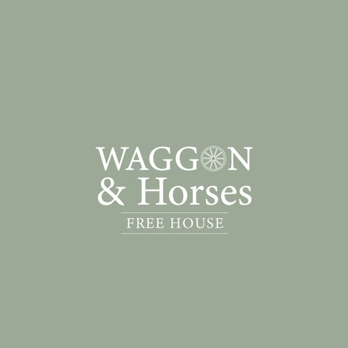 Waggon & Horses Pub Logo