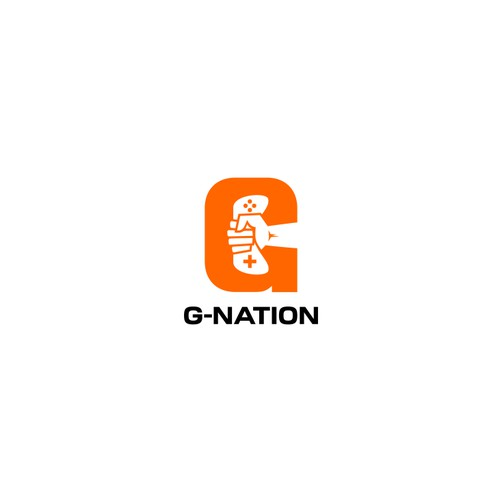 Bold logo for GamersNation (G-Nation)