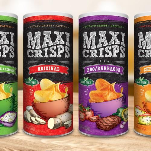 Memorable packaging for potato chips