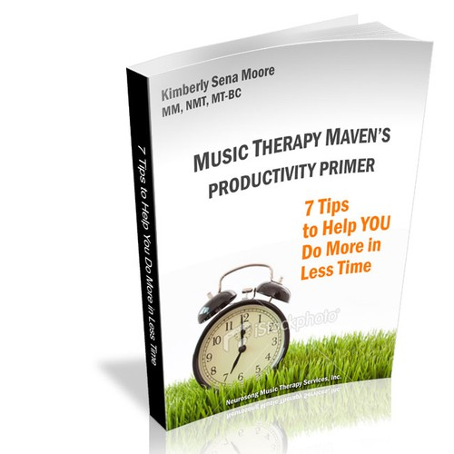 Catchy eBook Cover Needed for Music Therapy Tip Book