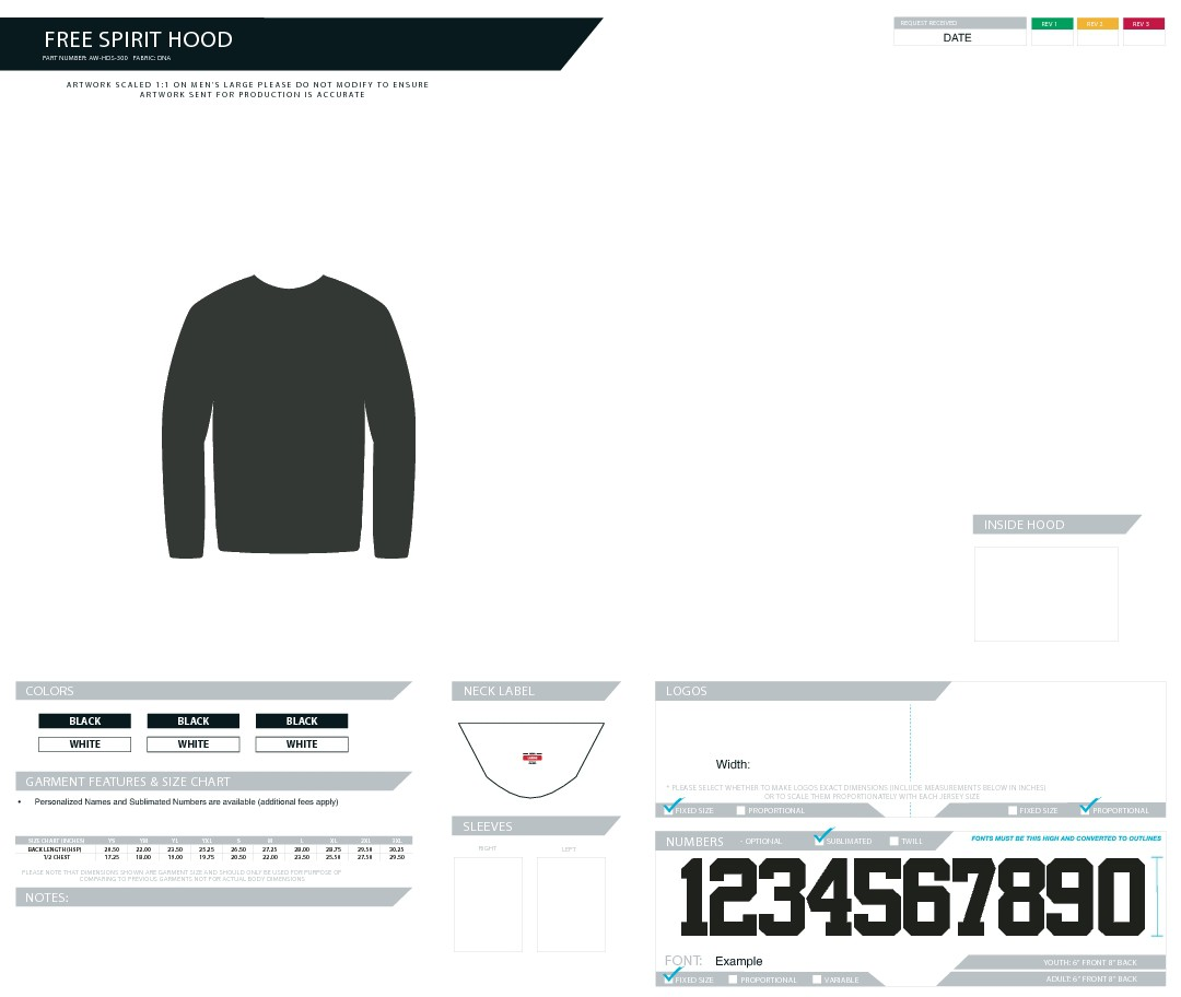 Hockey Goalie Brand Launching Apparel Line: Need Hoodie Design (100% sublimated/print-all-over)