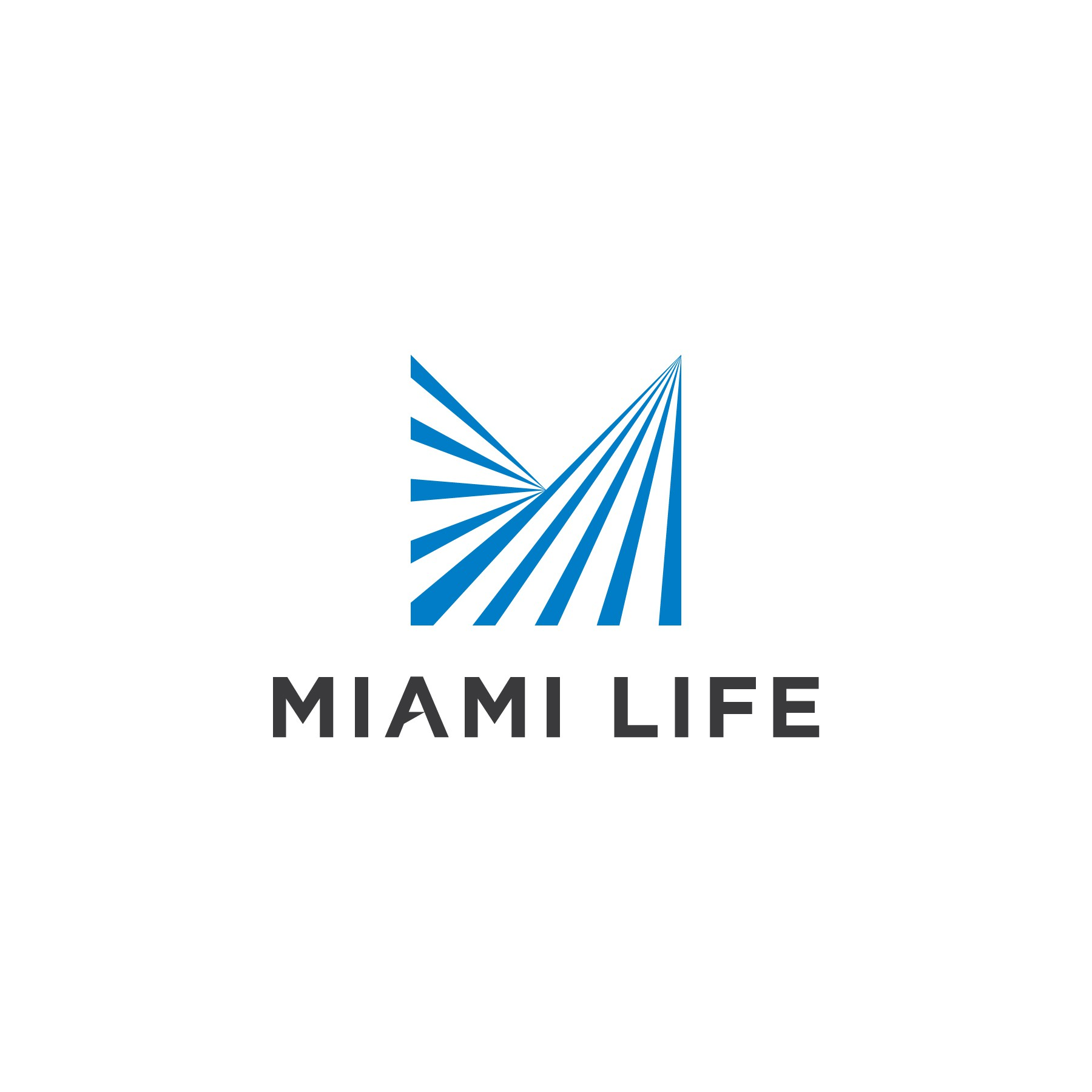 Miami Life - A logo to speak to the world's elite!