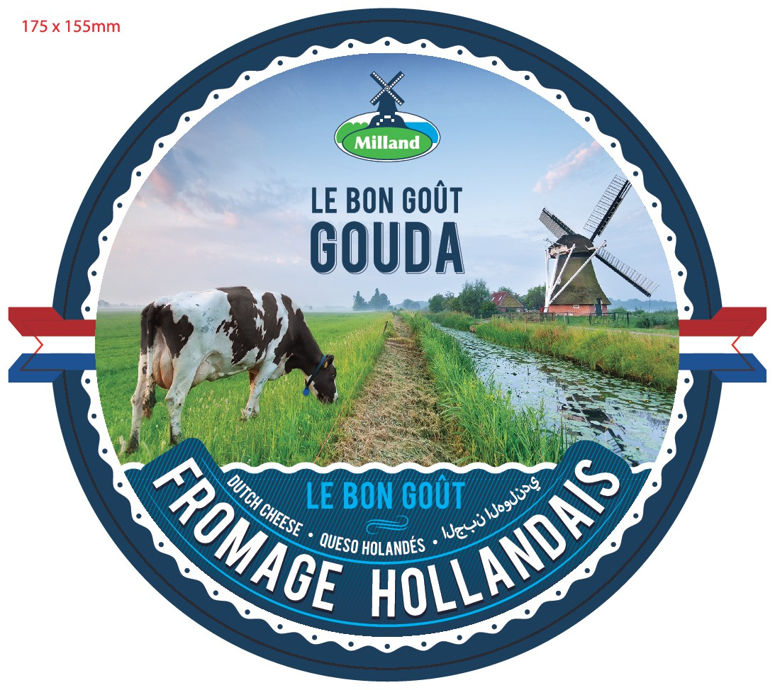 Create a new cheese label for the West African market.