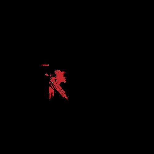 Logo for a rugged men's website