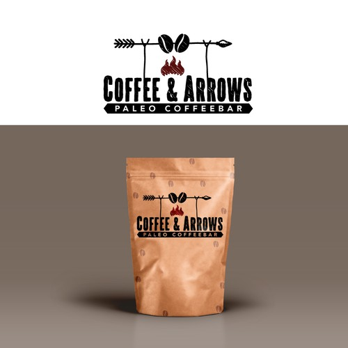 Coffee & Arrows coffee logo.