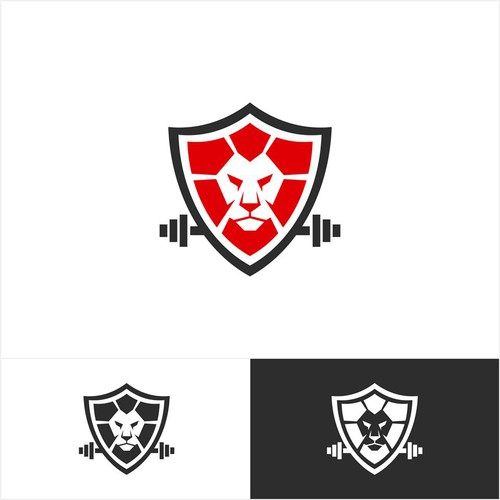 lion face logo for Bodify fitness