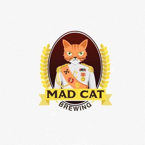 Creative brewery logo design