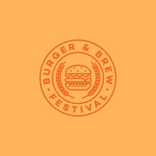 Logo for a festival