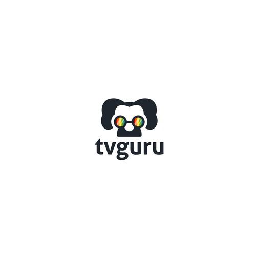 Logo concept for tv guru
