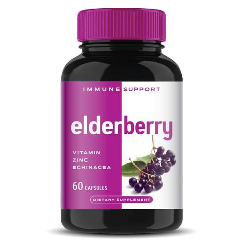 Labeldesign for supplement