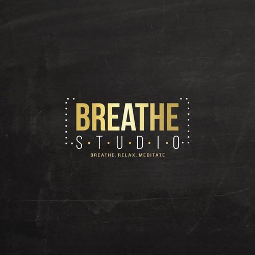 Breathe Studio logo design