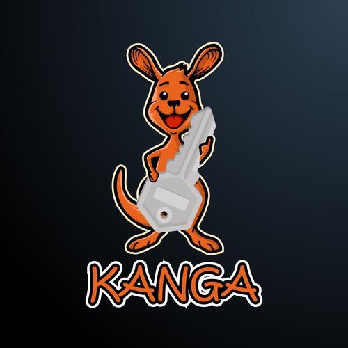 Kanga Logo Design
