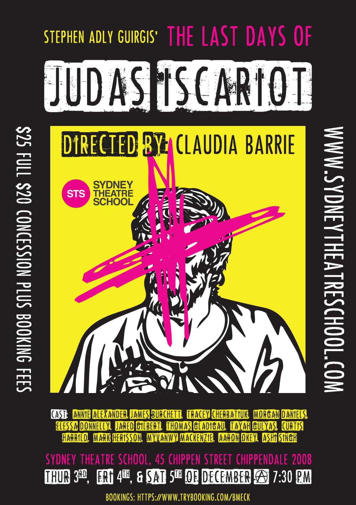 The Last Days of Judas Iscariot Poster