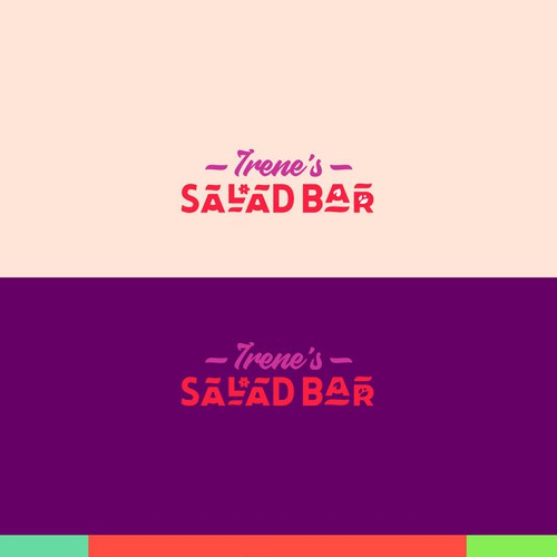 Logotype for Irene's Salad Bar
