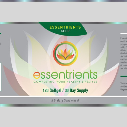 Help Essentrients with a new product label