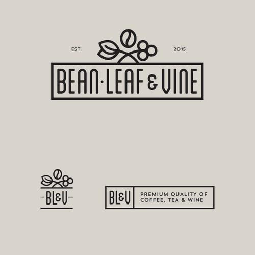 Logo for premium coffee tea and wine