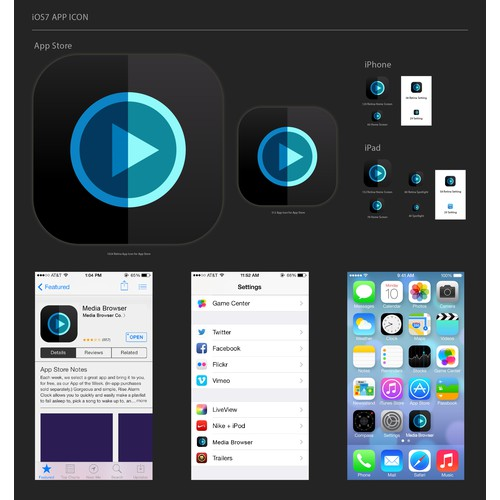Media Browser needs an amazing iOS7 icon!