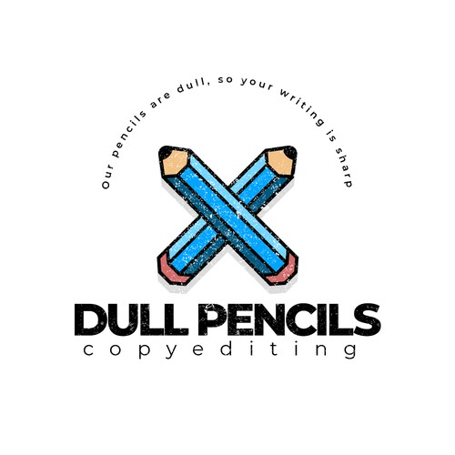 Logo concept for a copy-editing business
