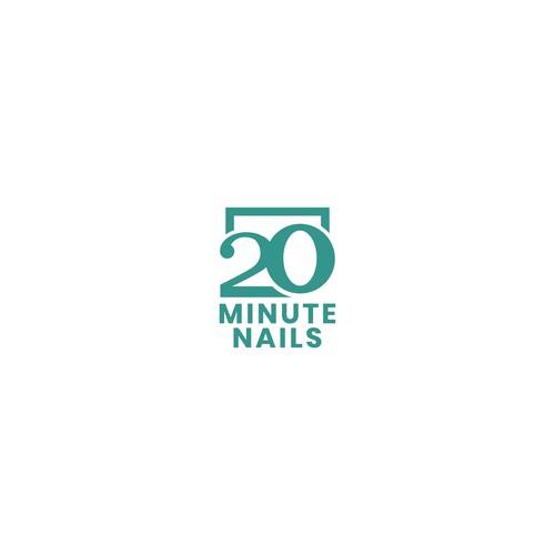 20 Minute Nails Logo