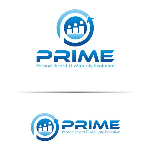 Create the PRIME logo for Pernod Ricard internal IT organizational project