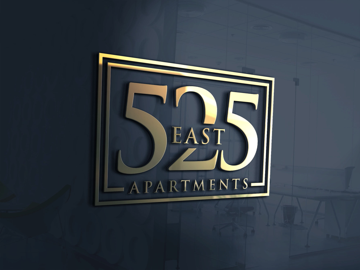 525 East Apartments- Logo