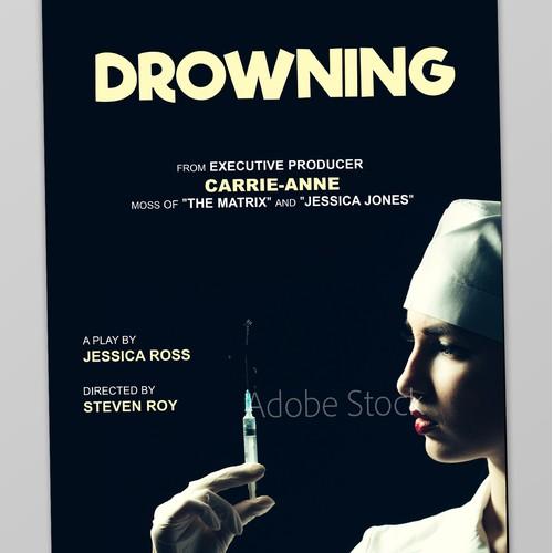 Drowning Fringe festival poster