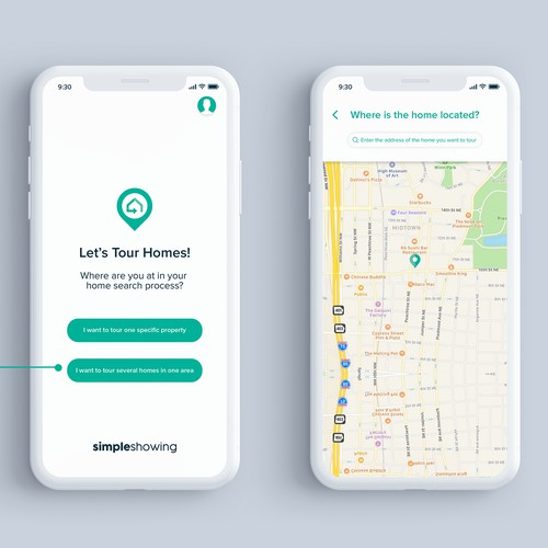 Home Tours App