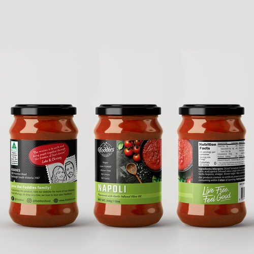Napoli Sauce - label