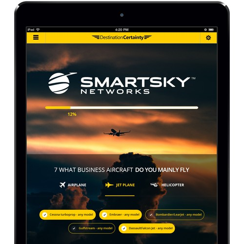 Innovative Aviation iPad App - fun project!!