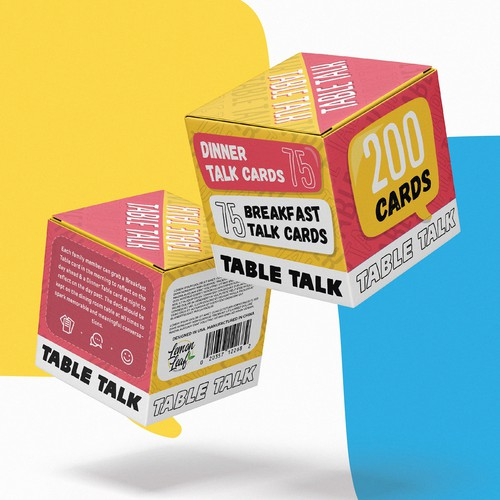 Card game box design