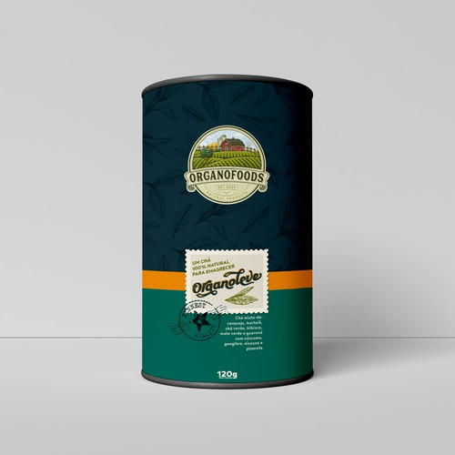 OrganoFoods Packaging Design