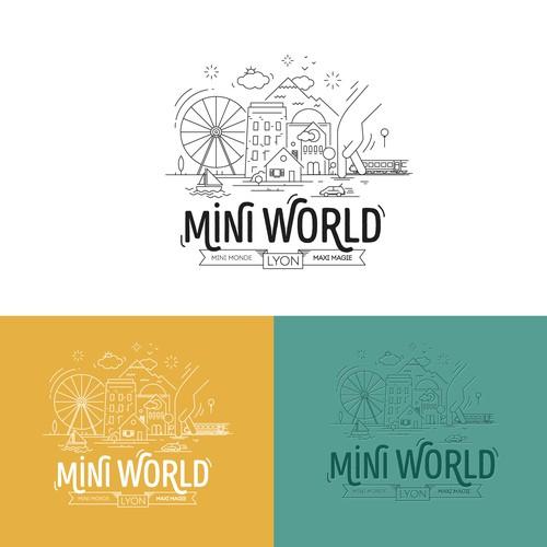 Logo Mini World Lyon