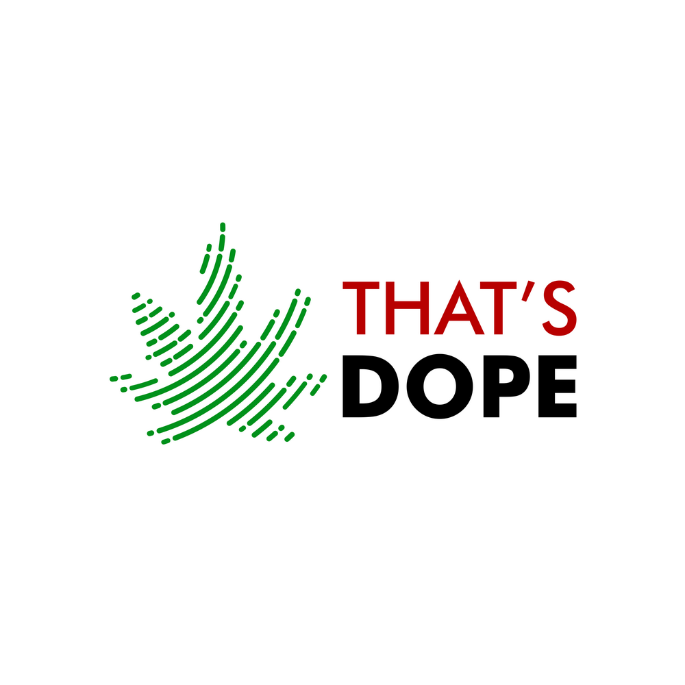 Edgy, smart, and fun logo for online cbd shop