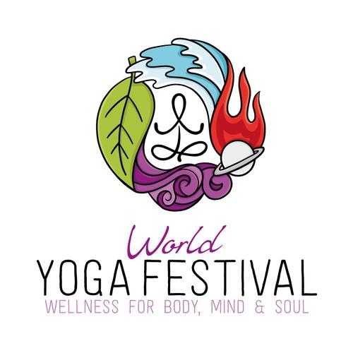 Yoga logo - 4 Elements