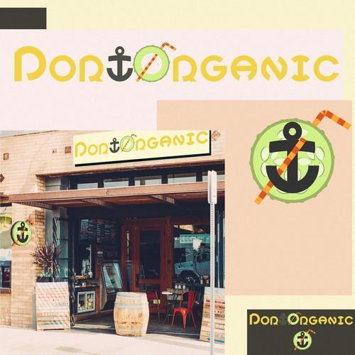 Logo for Vegan Organic Cafe