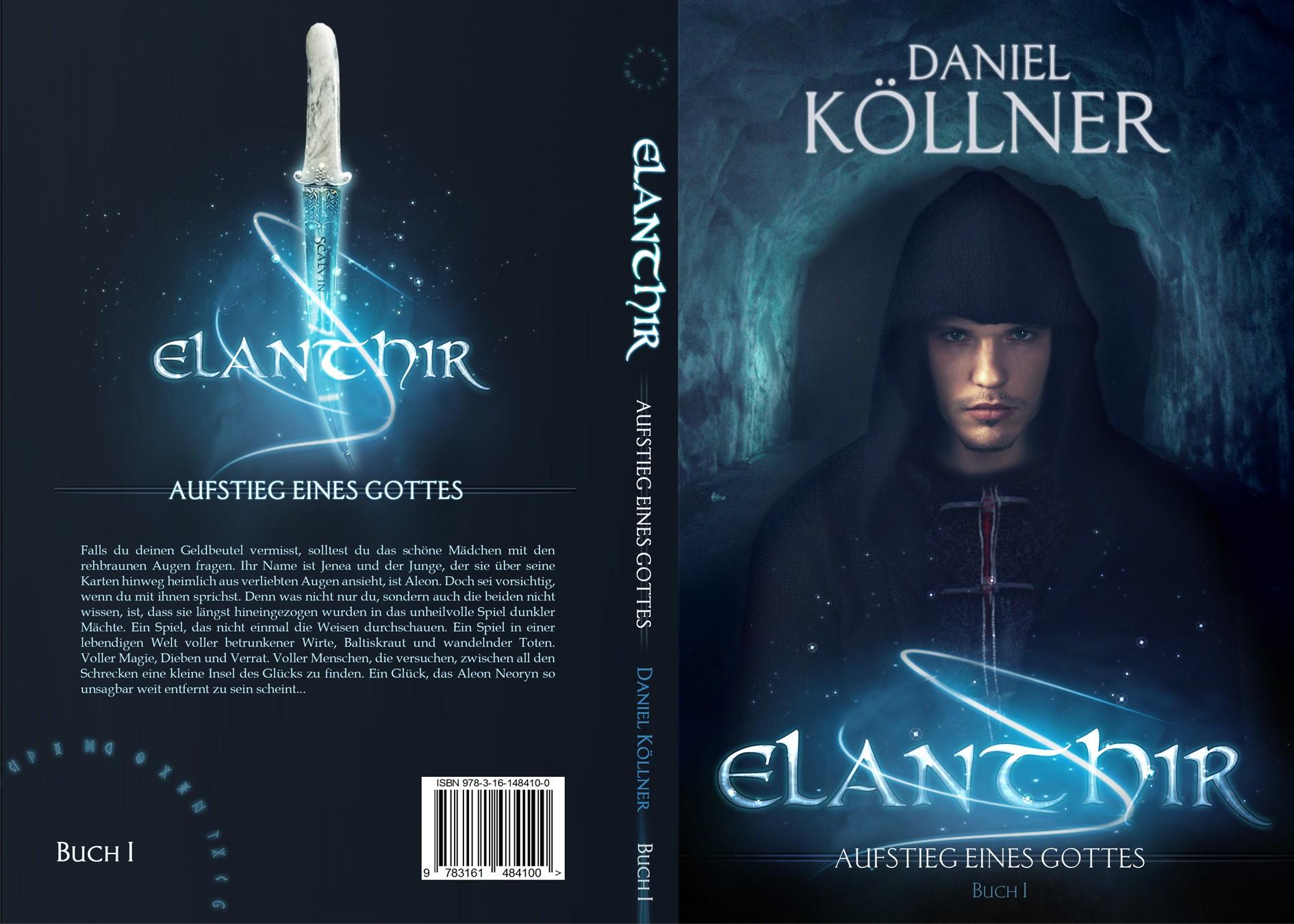 Fantasy book and ebook cover