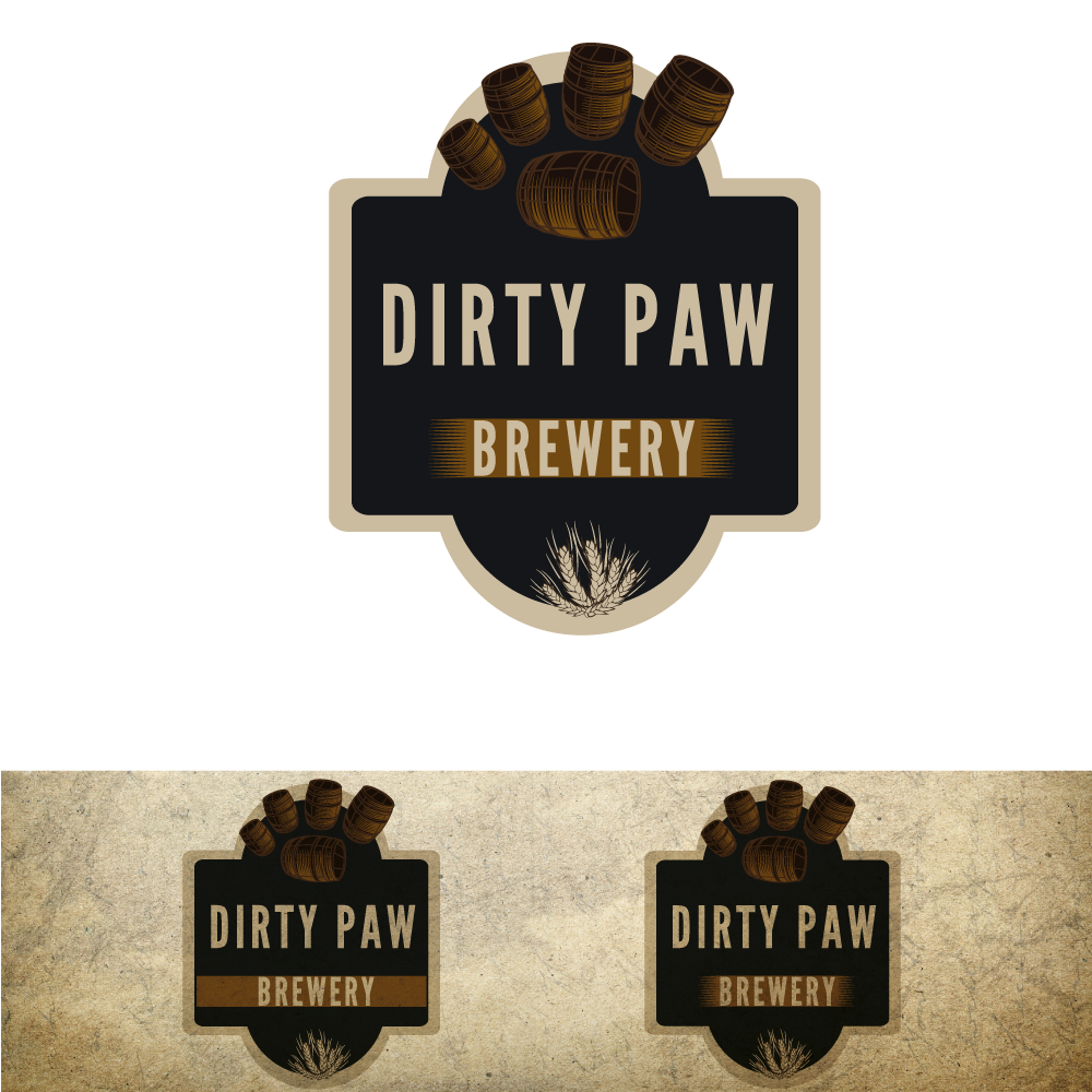 logo for Dirty Paw Brewery