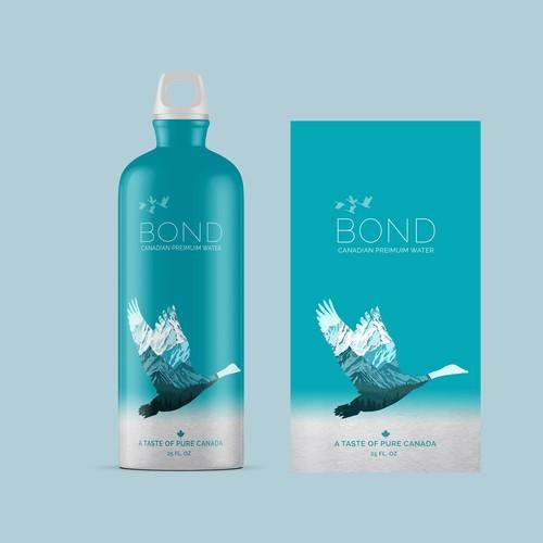 Canadian water bottle design