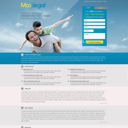 Maxlegal.com needs a new website design