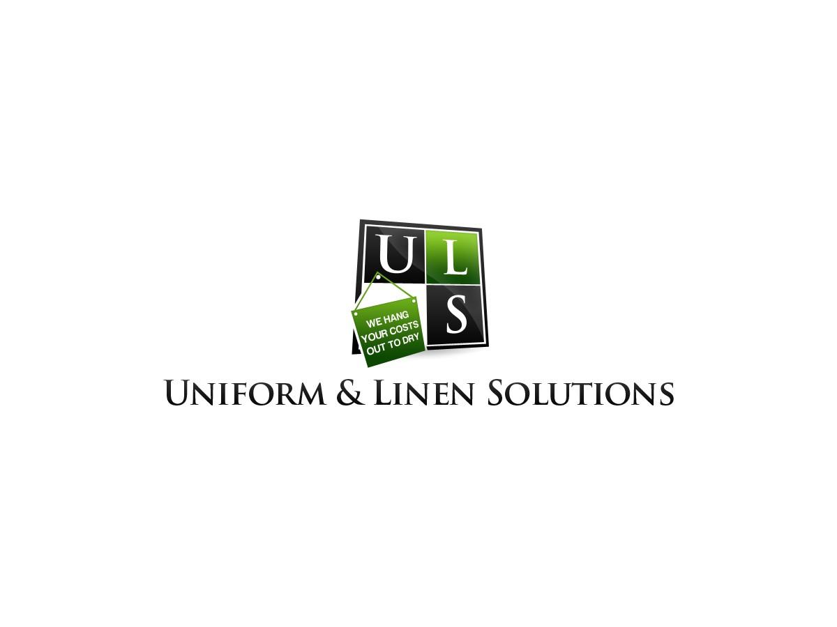 Create the next logo for Uniform & Linen Solutions