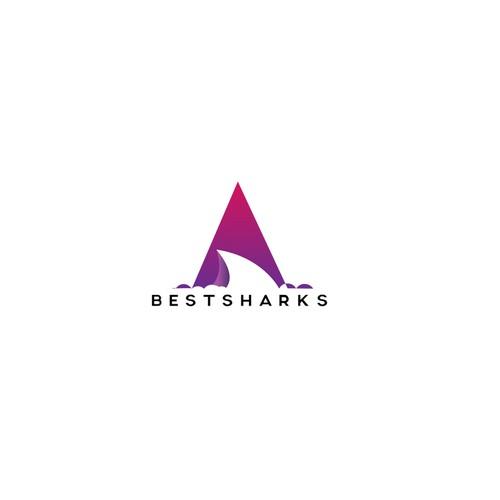 Modern logo for Best Sharks