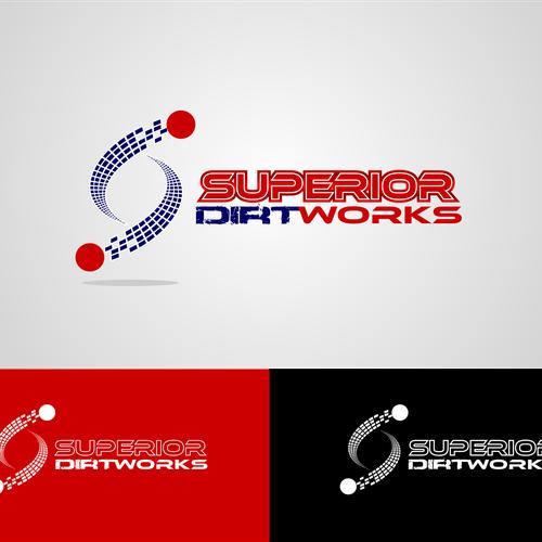 superior dirt works needs a new logo