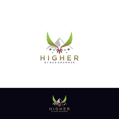 Logo Design for Higher by bad gramm3r