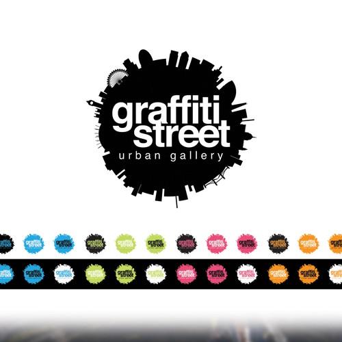 Create a winning logo for GraffitiStreet Urban Gallery
